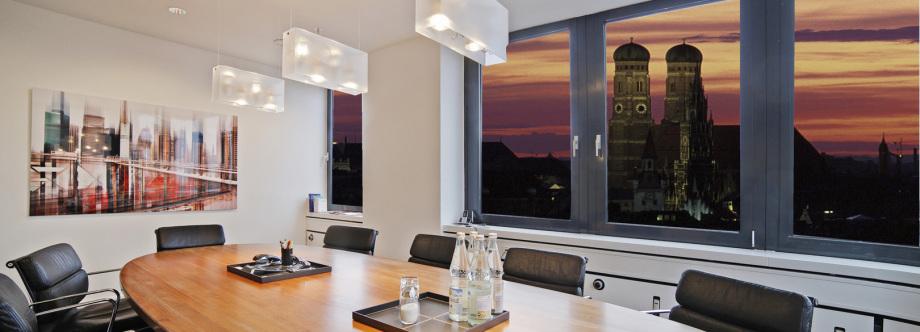 Foto eines Büros in München