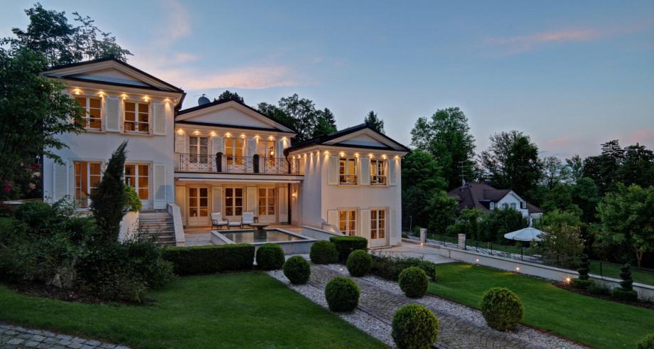 Eine Villa am Starnberger See